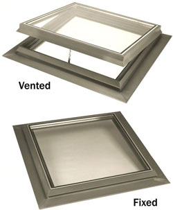 Lynview Standard Series Skylights - Vented and Fixed