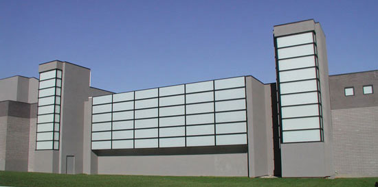 Wang Center at Stony Brook University Curtain Wall